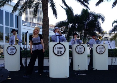Swing band and Jazz band for hire in Saint Augustine, Florida.