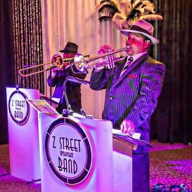 Jazz band and Swing Band for hire in Fort Myers, Florida for your Casino Theme event.